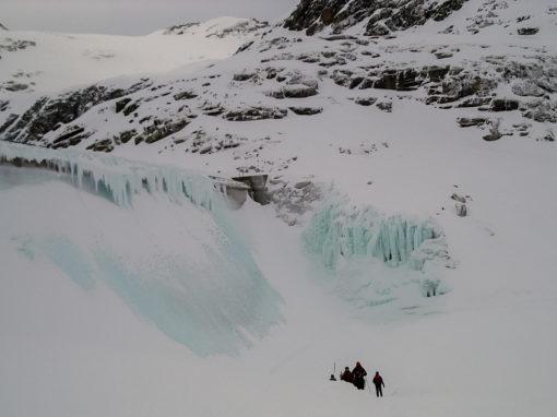 Kurzes Video Eisklettern am Weißsee